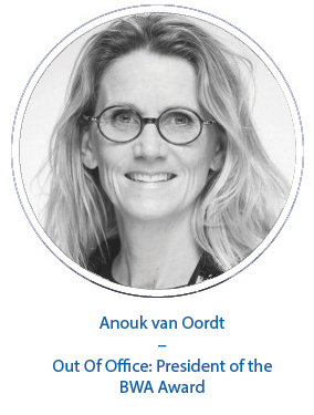 Anouk van Oordt – Out Of Office: President of the BWA Award