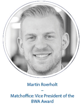 Martin Roerholt – Matchoffice: Vice President of the BWA Award
